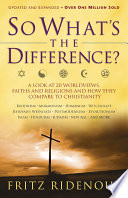 So What s the Difference  Book PDF