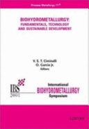 Biohydrometallurgy: Bioleaching, microbiology, and molecular biology