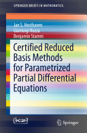 Pdf Certified Reduced Basis Methods for Parametrized Partial Differential Equations