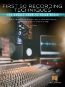 First 50 Recording Techniques You Should Know to Track Music Book PDF