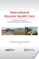 International Disaster Health Care Book
