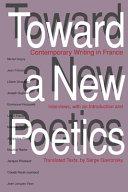 Toward a New Poetics