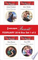 Harlequin Presents February 2018 Box Set 1 Of 2