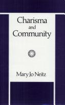 Charisma and Community Pdf/ePub eBook