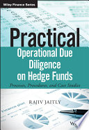 Practical Operational Due Diligence on Hedge Funds Book