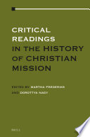 Critical Readings in the History of Christian Mission