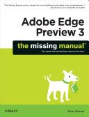 Pdf Adobe Edge Preview 3: The Missing Manual