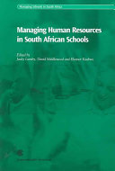 Managing Human Resources in South African Schools