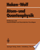 Atom- und Quantenphysik