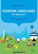 Korean Language for Beginners Book