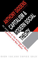 Capitalism and Modern Social Theory