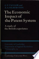 The Economic Impact of the Patent System