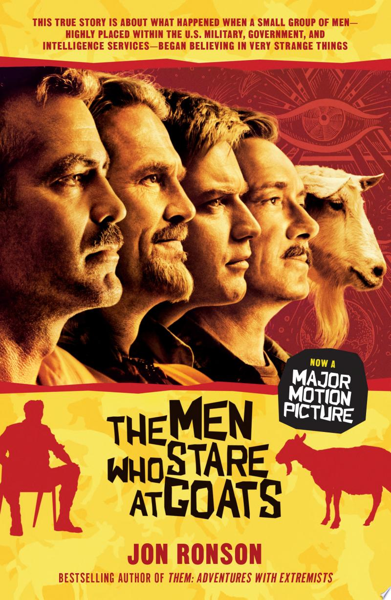 The Men Who Stare at Goats banner backdrop
