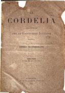 Cordelia rivista mensile della donna italiana