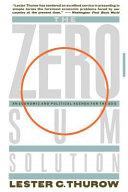 Zero-Sum Solution