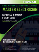 Hawaii 2020 Master Electrician Exam Questions and Study Guide