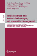 Advances in Web and Network Technologies  and Information Management