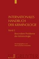 Internationales Handbuch der Kriminologie