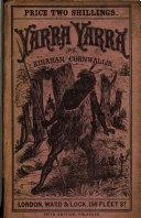Yarra Yarra  Or The Wandering Aborigine