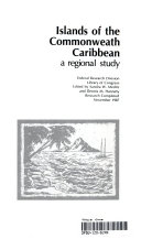 islands of the commonwealth caribbean a regional study