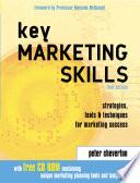 Key Marketing Skills