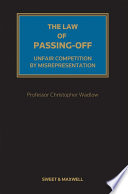 The Law Of Passing Off PDF
