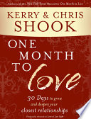 One Month To Love Book PDF