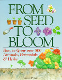 From Seed to Bloom