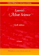Lawrie's Meat Science, Sixth Edition