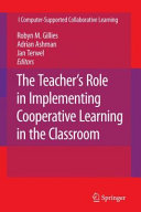 The Teacher's Role in Implementing Cooperative Learning in the Classroom Pdf/ePub eBook