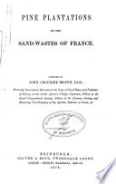 Pine Plantations on the Sand wastes of France Book PDF