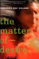 The Matter of Desire Pdf/ePub eBook