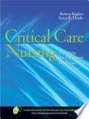 Critical Care Nursing: Synergy for Optimal Outcomes