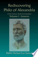 Rediscovering Philo of Alexandria: