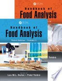 Handbook of Food Analysis - Two Volume Set