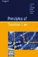 Cover of Principles of Taxation Law