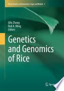 Genetics And Genomics Of Rice Book PDF