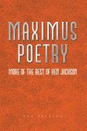 Maximus Poetry Pdf