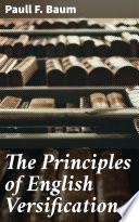 The Principles of English Versification
