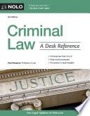 Criminal Law Book