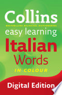 Easy Learning Italian Words (Collins Easy Learning Italian)