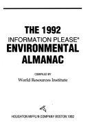The Information Please Environmental Almanac  1992