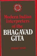 Pdf Modern Indian Interpreters of the Bhagavad Gita