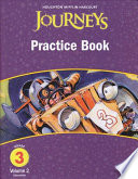 Journeys, Grade 3 Practice Book Consumable