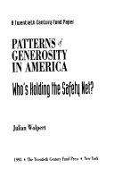 Patterns of Generosity in America