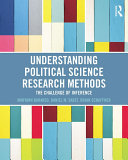 Understanding Political Science Research Methods