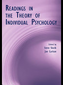 Readings in the Theory of Individual Psychology