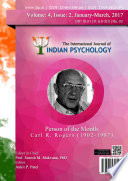 The International Journal Of Indian Psychology Volume 4 Issue 2 No 93
