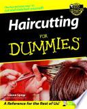 """""""Haircutting For Dummies"""" by J. Elaine Spear"""