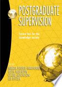 Postgraduate Supervision